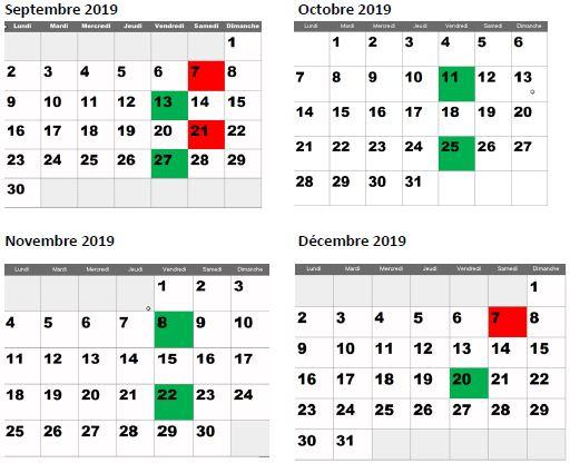 calendrier ava